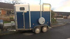 Horse box Ifor Williams 505
