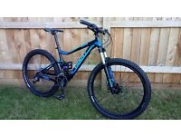 Giant Stance full suspension reduced bargain price!