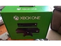 Xbox One 500GB With Kinect Including original box and 10 Games !