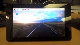 raspberry pi touch screen and pi