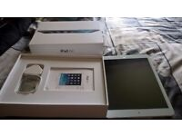 i.pad air 5th generation with all boxes,charger,new hard glass screen protector,new cover,32gb v.g.c