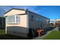 ABI SEASHORE STATIC CARAVAN. 2013 MODEL. 2 BEDROOM, 6 BIRTH, FULLY LOADED. FIRST TO VIEW WILL BUY.