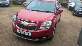 Chevrolet Orlando.1.8 petrol,7 seat,very good condition,long MOT