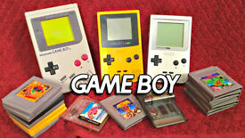 Wanted Gameboy games and consoles .
