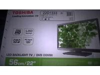 "toshiba 22d1333 22""tv+dvd combo"