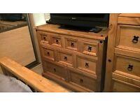 2x 9 draw bedroom furniture