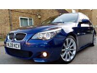 BMW 5 SERIES 3.0 530d M Sport ,full service history many bills