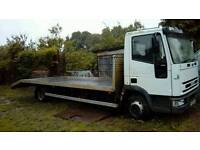 Recovery lorry iveco new cargo 75e15
