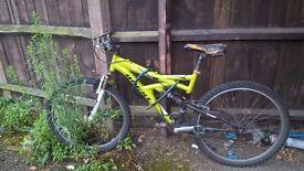 """Bike 24"""" including lock £ 10"""