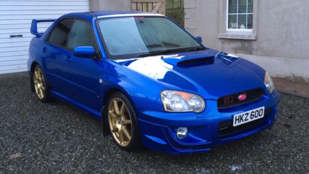 Late 2004 Subaru Impreza Wrx In Ballymena County Antrim