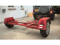 Dolly car transporter and FREELANDER TD4 HSE