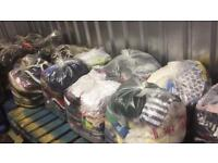 Job lot Wholesale second hand clothes and shoes mix ladies mens childrens