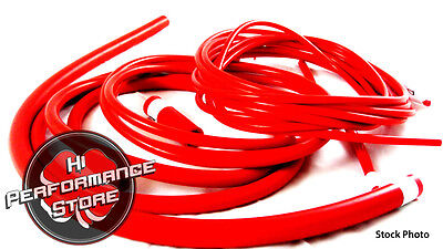 Silicone Vacuum Hose Kit 03-06 Scion xA xB Stock Intake Red