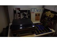 Portable record Player with 4 Albums good working order 1 months warranty
