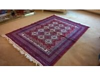 Oriental Rug - £10.00 unused and machine washable 54 x 36 inches.