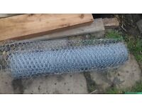 Roll of chicken wire
