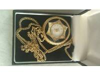 Gold vintage ladies watch