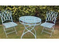 Patio/Garden Table & Folding Chairs