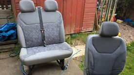 06 Vivaro seats & B piller trim