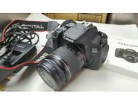 Canon 650d dslr and 28-80mm lens