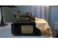 Overlock sewing machine Wilcox and Gibbs