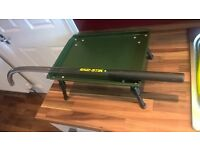 Korda Eazi boiling stick and adjustable bivy table