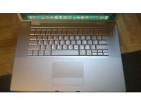 Macbook Pro 15 2.5ghz core 2 duo with Adobe CS6 / Final Cut / Logic Pro / Ableton / MS Office