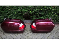 Goldwing Side panniers with inner bags