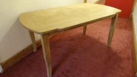 italian style wood dinning table