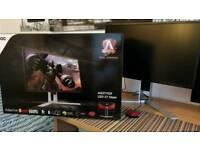 "Gaming Monitor AOC AGON 27"" QHD 144hz 1ms swap For Xbox One X"
