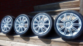 "REFURBISHED 17"" ALLOY WHEELS WITH 215 45 17 TYRES"