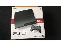 Playstation 3 Slim 160GB With Games