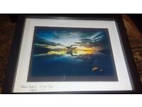 "8x10""Salum Sunsets"" Isle of Tiree Framed print by Allanah Kyle (Original Artist)"