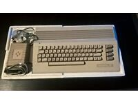 COMMODORE 64 COMPUTER INCLUDING ACCESSORIES AND GAMES