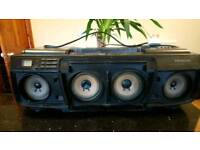 Vintage Hitachi Boom Box