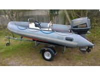 Avon SR4 Rib Boat Suzuki DT55 Outboard