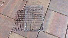 METAL INNER FIXING DOOR CAGE BASKET FOR PROTECTING LETTERS NEWSPAPERS ETC FROM PETS