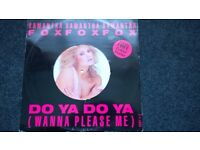 Samantha Fox 12 inch vinyl single . picture disc .