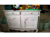 Vintage sideboard/changing table