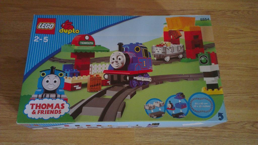 Thomas Train And Friends Lego Duplo Thomas And Friends 5554 Thomas Load And Carry Train Set
