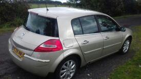 Megane 1.6 VVT 2008 tech run great car bargain at £900