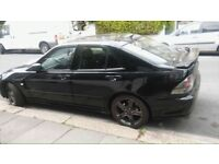 Black Lexus IS200