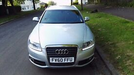 2010MY Audi A6 Avant 2.0 TDI S Line 168bhp 6 speed manual **MUST SEE** Estate not 520d