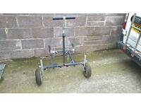 Fishing trolley approx 2 years old never used . unwanted gift. Tyres have never got dirty.