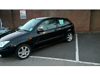 FORD FOCUS EBONY ,LTD EDITION ,