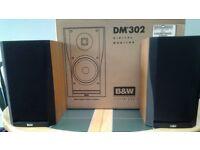 Bowers & Wilkins DM#302 Loudspeakers (Pair) Digital Monitor incl. Wall Brackets