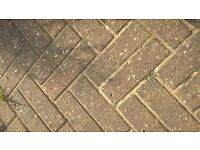 Block paving for sale. Collection only.