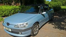 Peugeot 306 convertible good mechanics and body MOT 26.10 £350