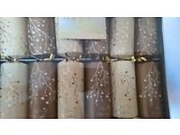 Box of 6 Luxury Crackers As New