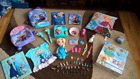 Frozen Bundle: NEW Doh Vinci,doll,backpacks.